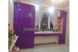 Комплект мебели для детской 0017 - Мебельная фабрика «САнЭК»