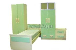 Комплект мебели для детской - Мебельная фабрика «Фаворит»