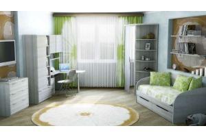 Комплект мебели для детской 3 - Мебельная фабрика «Эльба-Мебель»