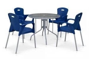 Комплект мебели для летнего кафе TD90 - Мебельная фабрика «Афина-Мебель»