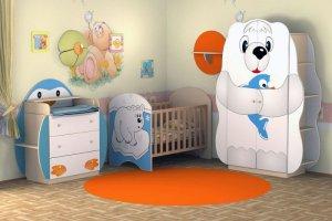 Комплект мебели для новорожденного Умка - Мебельная фабрика «Мебель от Михаила»