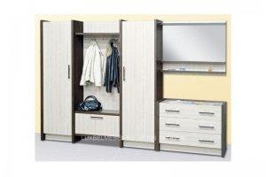 Комплект мебели для прихожей ДСП 1543 - Мебельная фабрика «ЛюксБелМебель»