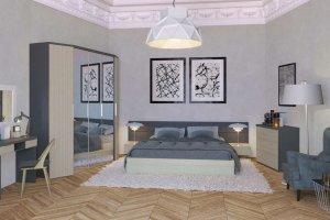 Комплект мебели для спальни Диора 2 - Мебельная фабрика «Эльба-Мебель»