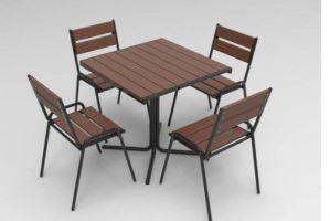 Обеденная группа из полимерной доски - Мебельная фабрика «Мебель ОПТ 98»