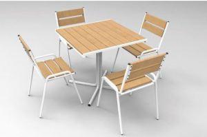 Обеденная группа из рейки - Мебельная фабрика «Мебель ОПТ 98»