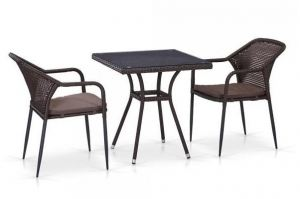 Комплект мебели из ротанга T282BNT - Мебельная фабрика «Афина-Мебель»