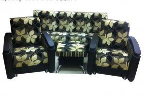 Комплект мебели с пуфом Марианна - Мебельная фабрика «Эдем»