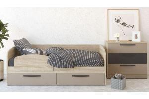 Комплект мебели Стокгольм капучино 4 - Мебельная фабрика «Сканд-Мебель»