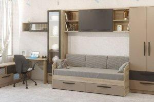 Комплект мебели Стокгольм капучино 3 - Мебельная фабрика «Сканд-Мебель»