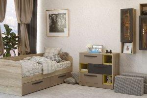 Комплект мебели Стокгольм капучино 5 - Мебельная фабрика «Сканд-Мебель»