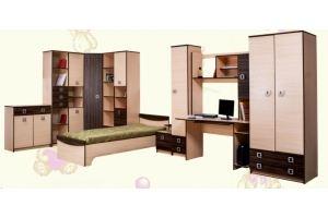Комплект мебели в детскую Пегас 01 - Мебельная фабрика «AvtoBaby»