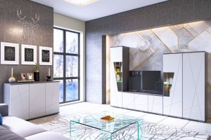 Комплект мебели в гостиную Лея - Мебельная фабрика «CALPE»