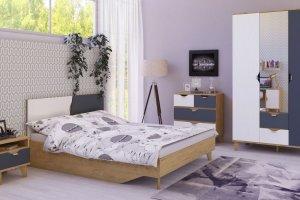 Комплект мебели в спальню Модена - Мебельная фабрика «Интеди»