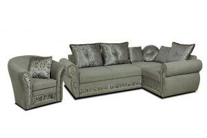 комплект мягкой мебели в классическом стиле Версаль  - Мебельная фабрика «Миларум»