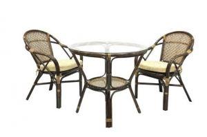 Комплект обеденный ELLENA-1 Б - Импортёр мебели «ЭкоДизайн (Китай, Индонезия)»