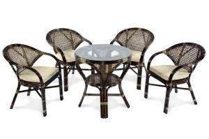 Комплект обеденный MOKKO+JAVA Б - Импортёр мебели «ЭкоДизайн»