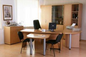 Комплект мебели для руководителя Магистр - Мебельная фабрика «Карат-Е»