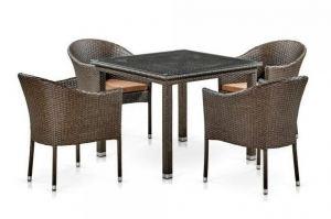 Комплект плетеной мебели T257A - Мебельная фабрика «Афина-Мебель»