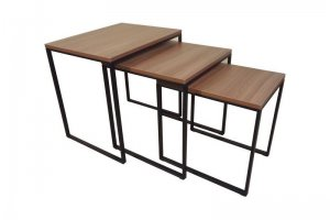 Комплект придиванных столов Трио - Мебельная фабрика «Металл Конструкция»