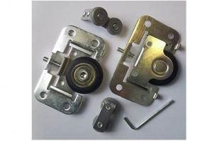 Комплект роликов для бескаркасной двери - Оптовый поставщик комплектующих «Купе Центр»