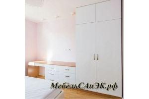 Комплект светлой мебели в детскую 0019 - Мебельная фабрика «САнЭК»