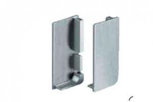 Комплект торцевых пластиковых заглушек (правая и левая) для для профиля 8006  Артикул: FGCSP0159-13 - Оптовый поставщик комплектующих «Аметист»