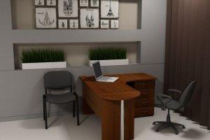 Комплект  в офис Функциональный - Мебельная фабрика «СибМебель»