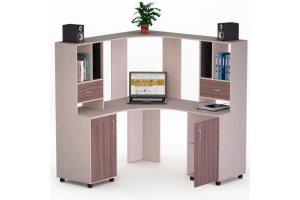 Угловой компьютерный стол 71 - Мебельная фабрика «Фиеста-мебель»