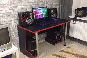 Компьютерный стол черный - Мебельная фабрика «Оливин»