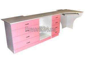 Компьютерный стол для девочки - Мебельная фабрика «Фаворит»