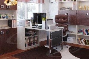Компьютерный стол ЛДСП Валентин - Мебельная фабрика «Ладос-мебель»