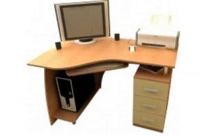 Компьютерный стол Модель 5 - Мебельная фабрика «Командор»