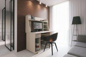 Компьютерный стол ПК-10 - Мебельная фабрика «Континент-мебель»
