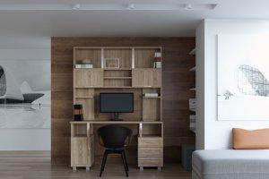Компьютерный стол ПК-12 - Мебельная фабрика «Континент-мебель»