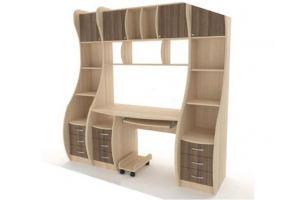 Компьютерный стол-шкаф - Мебельная фабрика «Вестра»