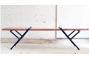 Консоль Макс Loft Индустриал - Мебельная фабрика «Loft Zona»