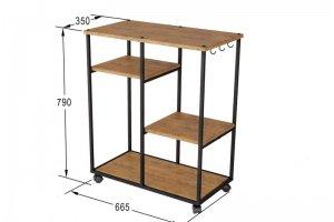 Консоль Вэстри дуб американский - Мебельная фабрика «Мебелик»
