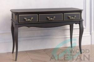 Консольный стол 3 ящика 903BL - Мебельная фабрика «ALETAN wood»