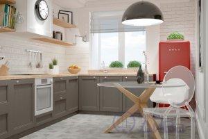 Коричневая кухня Фьюжн - Мебельная фабрика «ДиВа мебель»
