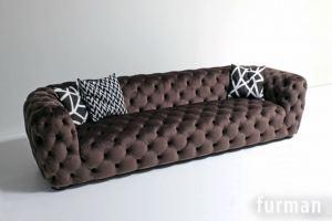 Коричневый диван Ray - Мебельная фабрика «Фурман»