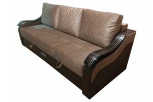 Коричневый раскладной диван - Мебельная фабрика «ДарВик»