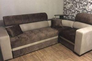 Коричневый уютный диван - Мебельная фабрика «Самур»