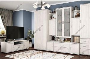 Корпусная гостиная Классика 001 - Мебельная фабрика «Пеликан»