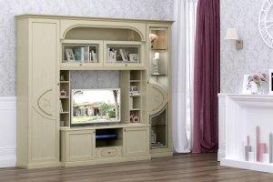 Корпусная мебель для гостиной Палермо беж - Мебельная фабрика «ИнтерДизайн»