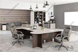 Корпусная мебель в офис Триумф 001 - Мебельная фабрика «Пеликан»