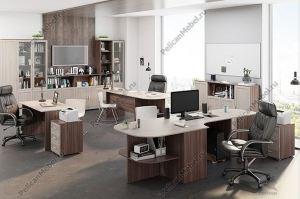 Корпусная мебель в офис Триумф 002 - Мебельная фабрика «Пеликан»