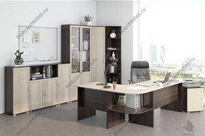 Корпусная мебель в офис Триумф 003 - Мебельная фабрика «Пеликан»