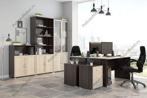 Корпусная мебель в офис Триумф 004 - Мебельная фабрика «Пеликан»