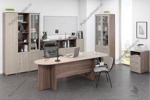 Корпусная мебель в офис Триумф 005 - Мебельная фабрика «Пеликан»