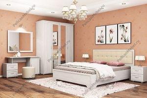 Корпусная спальня Классика 001 - Мебельная фабрика «Пеликан»